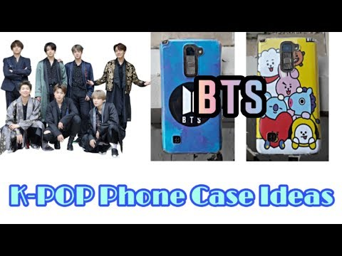 DIY KPOP BTS PHONE CASE IDEAS || Easy Phone Case Ideas || ANYONE CAN MAKE || Syeda Oishi