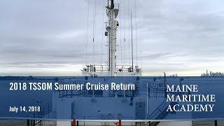 2018 TSSOM Summer Cruise Return