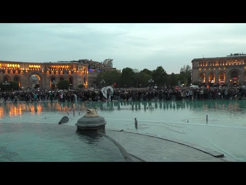Yerevan, 18.04.18, We, Video-3, Hanrahavak Hanrapetutyan hraparakum