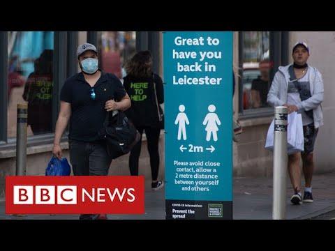 Lockdown tightened in Leicester as coronavirus cases surge - BBC News