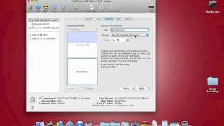 How to Partition you Hard Drive (mac) without using boot camp