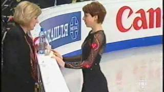 Irina Slutskaya 2005 World LP Wonderland (CBC Canada Commentary)