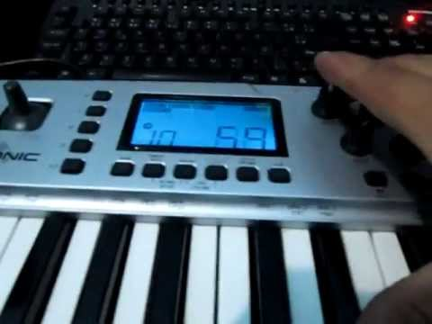 M-audio Ozonic Controlador/interface De Audio/midi/firewire
