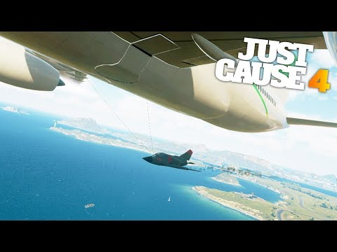 Just Cause 4 - A DAY AT THE AIRPORT