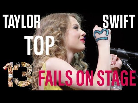 TOP 13 TAYLOR SWIFT FAILS COMPILATION 2018 (MORE FUN THEN FAIL) THESHOW