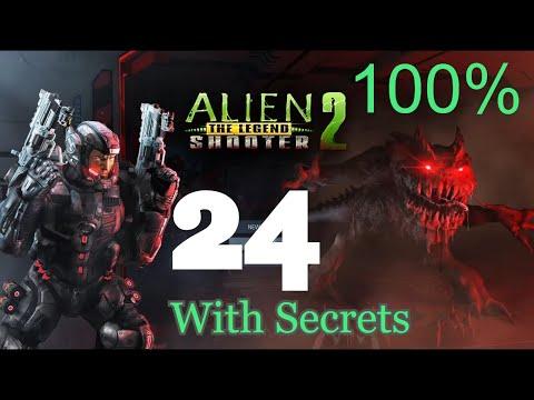 Alien Shooter 2 The Legend - Mission 24 With Secrets
