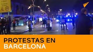 Barcelona sale a las calles en una nueva ronda de protestas por la detención de Pablo Hasél