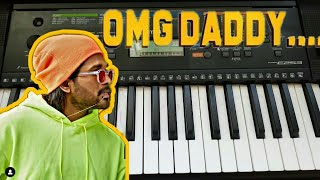 #AlaVaikunthapurramuloo - OMG Daddy Song On Piano|| Allu Arjun || Trivikram | Thaman S |#AA19