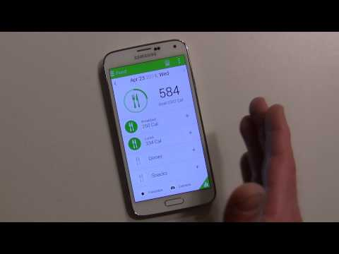 How to use S Health on the Galaxy S 5