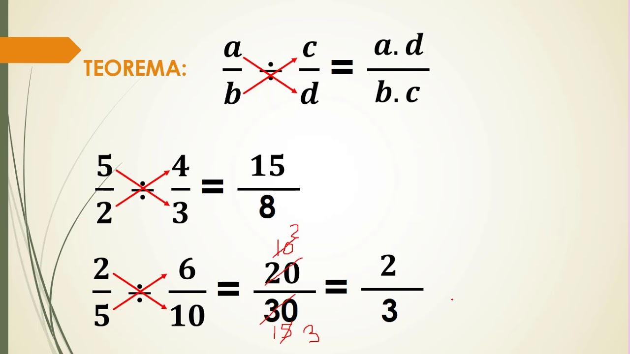 Division De Fracciones Homogeneas Y Heterogeneas