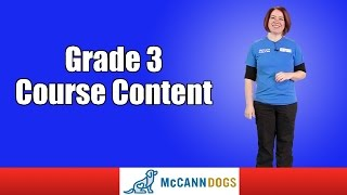 Grade 3 Course Content Family Dog Obedience