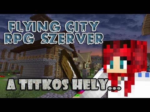 Minecraft - Flying City - A Titkos hely