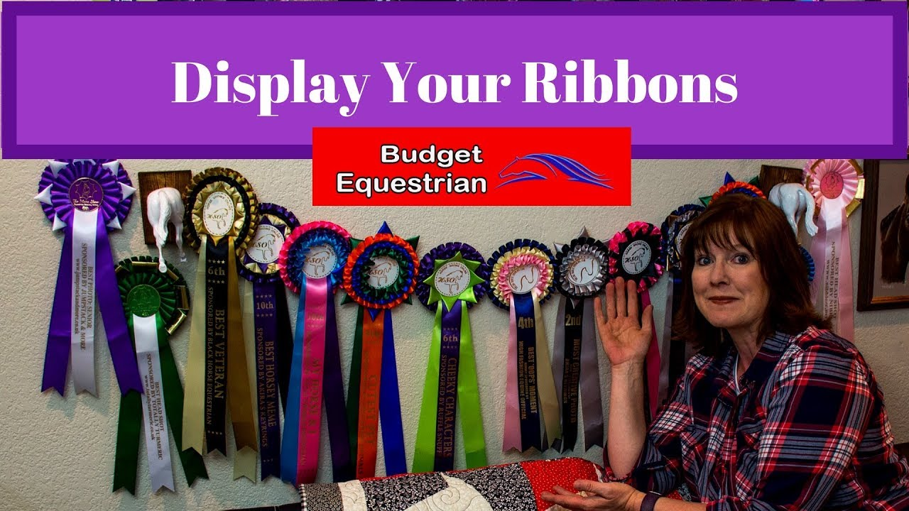 Lets Hang Up Our Horse Show Ribbons