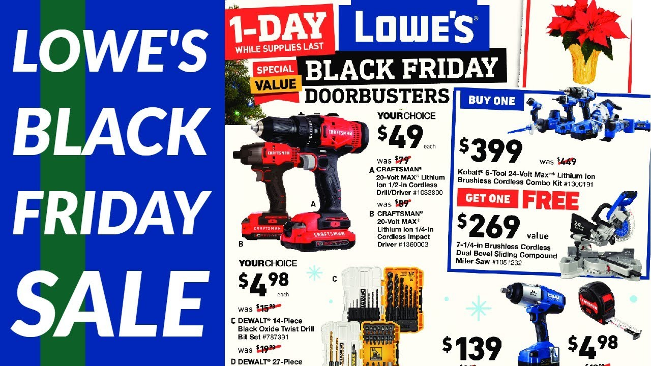 Lowe S Black Friday Sale 2019 Youtube
