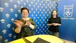 Turun kaupunginjohtajan etätiedotustilaisuus 20.5.2020