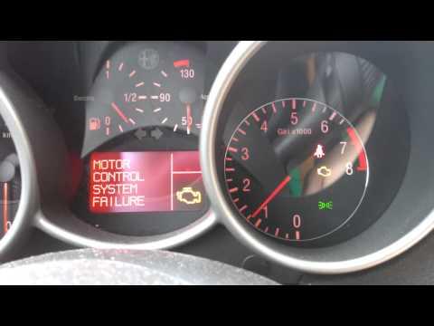 ALFA ROMEO 147 TS ECO Motor control system failure