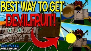 HOW TO GET DEVILFRUIT FAST!? IN | ONE PIECE MILLENNIUM REVAMP | ROBLOX