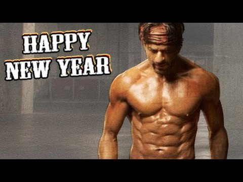 Shahrukh Khan's SHOCKING 8 PACK ABS for Happy New Year ...