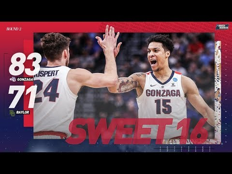 gonzaga-vs.-baylor:-second-round-ncaa-tournament-extended-highlights