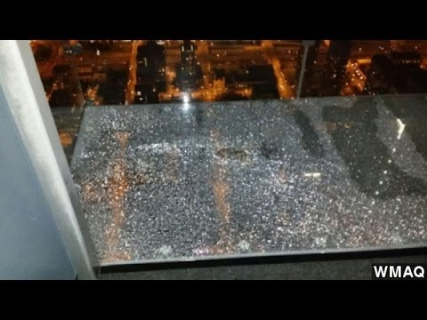 Cracks Appear Beneath Feet Of Willis Tower Tourists