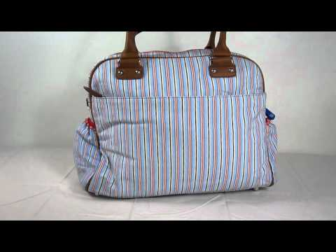 Room Seven Compass Diaper Bag Angles