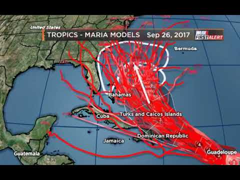 Hurricane Maria is getting stronger? Where is it headed? Here's a Monday morning tropical update.