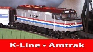 K-Line • Lionel Amtrak F40PH