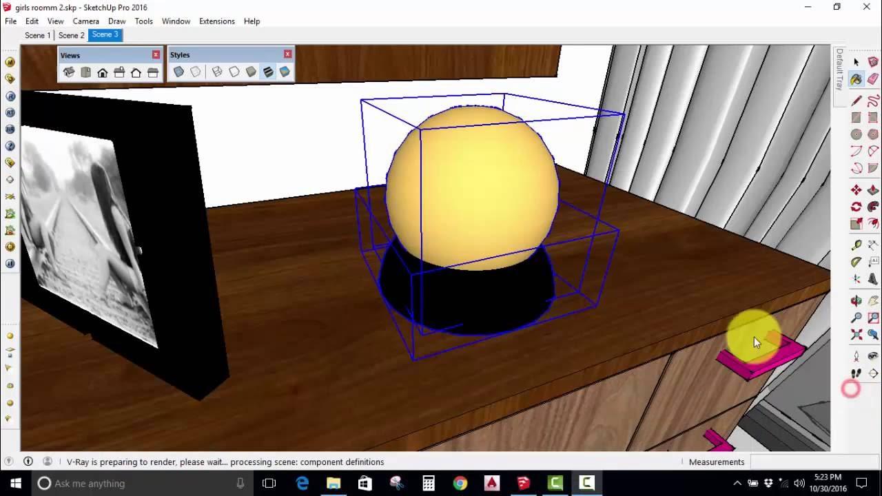 import vismat materials into sketchup