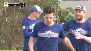 2018 AUC D1 - Brisbane Mammoth vs Melbourne Juggernaut  - Men's Semi Final