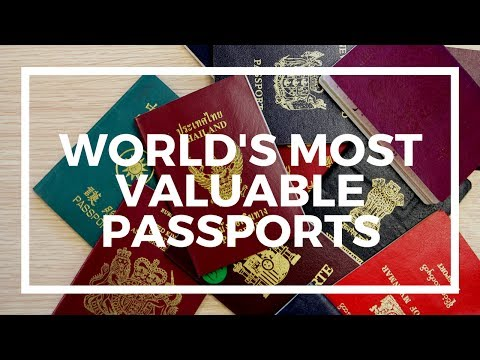 Five most valuable passports for visa-free travel
