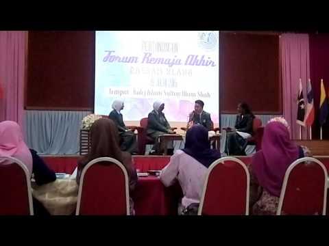 Pertandingan Forum Remaja 2016 SMK Raja Mahadi