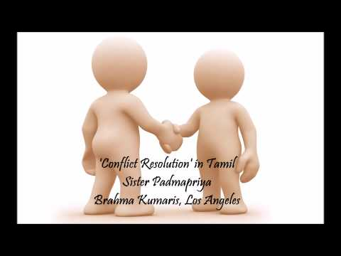 Conflict Resolution in Tamil