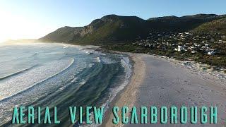 Scarborough Beach, Cape Town South Africa, An Aerial View
