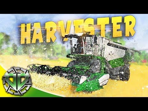 New Harvester and Cash Crop : Farmer's Dynasty Gameplay : PC Early Access Simulator