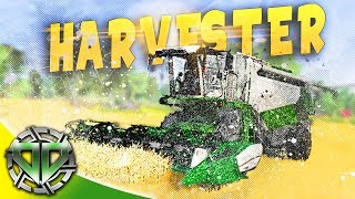 New Harvester and Cash Crop : Farmer
