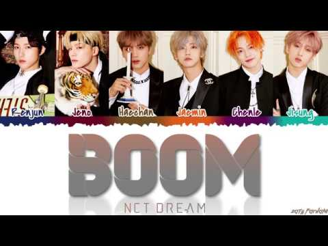 NCT DREAM (엔시티 드림) - 'BOOM' Lyrics [Color Coded_Han_Rom_Eng]