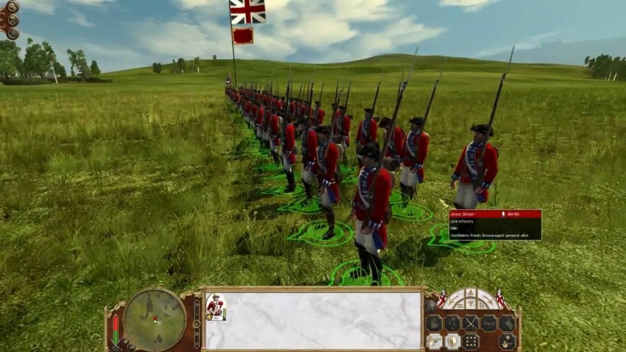 Empire Total War - British Line Infantry vs Austrian Line