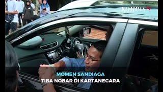 Gambar cover Momen Sandiaga Tiba Nobar di Kartanegara