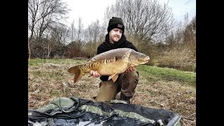Churn Pool pre spring carp fishing