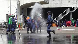 京橋消防団 第七分団 平成30年 ポンプ操法大会