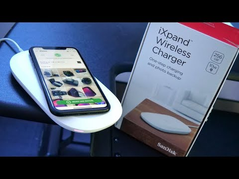 Sandisk iXpand Review | Wireless Charger & Auto Photo Backup!