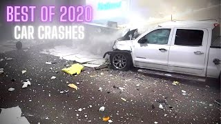 Best of 2020: Car Crashes Compilation [MegaDrivingSchool Rewind]