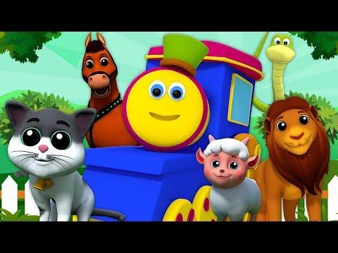 เพลงบ๊อบสัตว์ซาวด์ | เรียนรู้เสียง | Bob Animal Sound Song | Kids Tv Thailand | เพลง เด็ก อนุบาล
