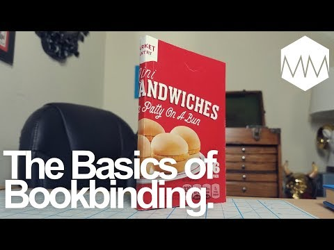 ▲ DIY Soft Cover Notebook // Perfect Bind Cover // Bookbinding Basics ep. 14