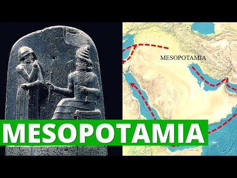 Mesopotamia: historia, religión, ubicación, aportes, organización