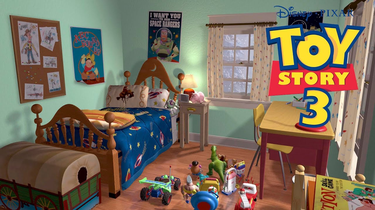Full Episode Movie Game English Toy Story 3 Disney Andy´s ...