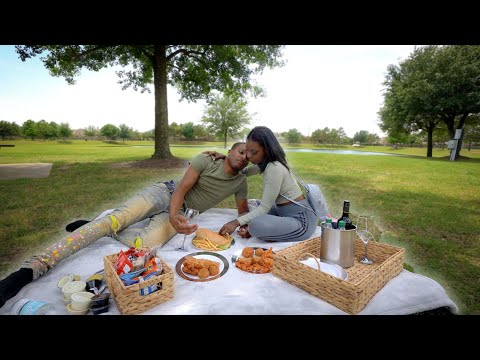 SURPRISING My Wife With The BEST  PICNIC DATE!! ?