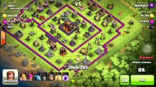 Clash of clans technique barbare archer