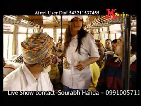 Bhagwant Mann : Just Laugh Baaki Maaf | Kudiyan Conductor | Full Comedy Song HD