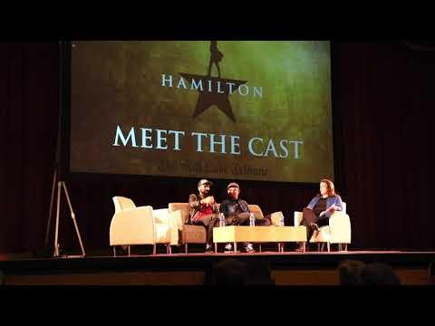 "Meet The Touring Cast of ""Hamilton"""